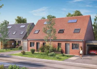 Maisons neuves à Douvrin