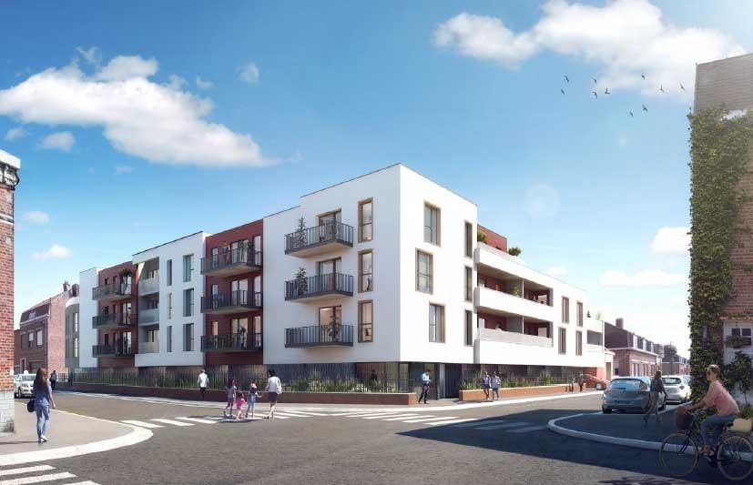 Programme immobilier en loi Pinel Les Satines à Houplines